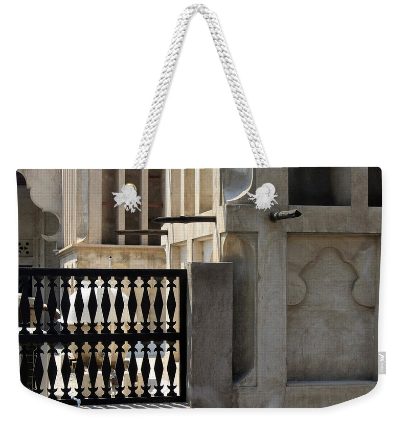 Stones Weekender Tote Bag featuring the photograph The Spoken Stones by Munir Alawi