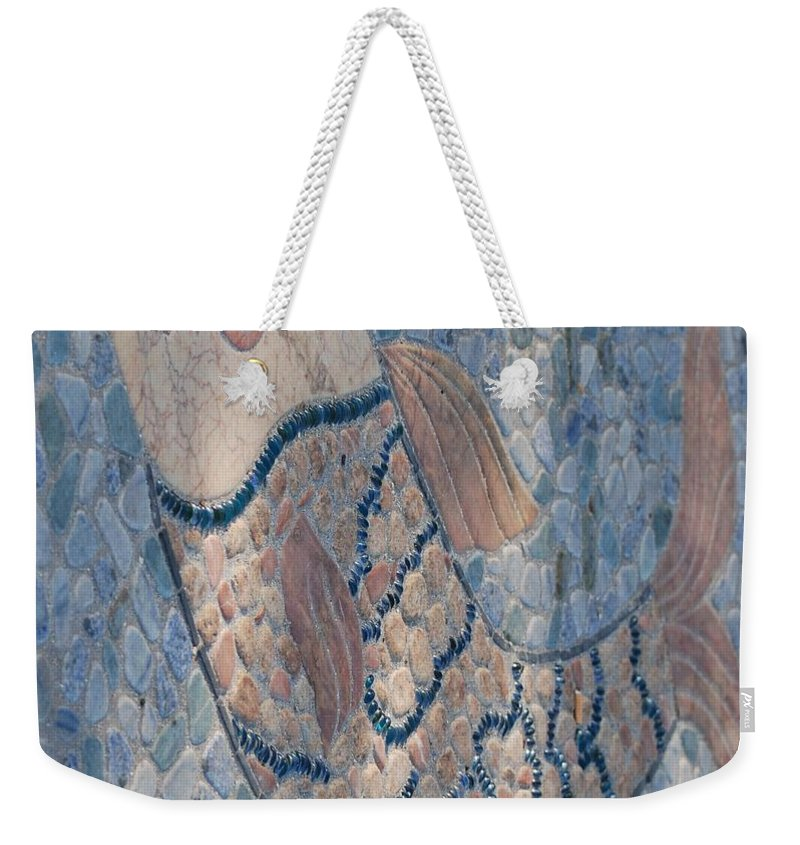 Fish Weekender Tote Bag featuring the photograph The Stone Fish by Rob Hans