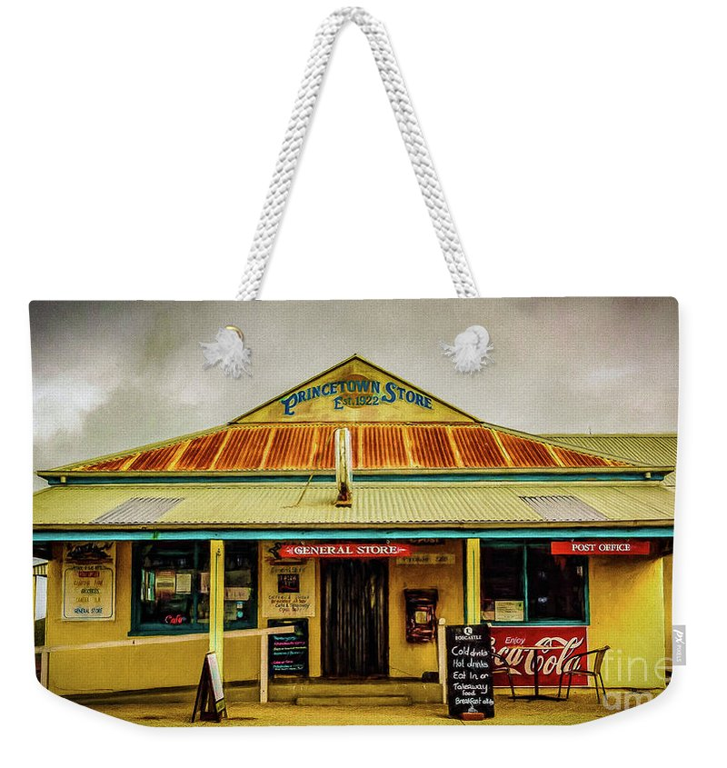 Store Weekender Tote Bag featuring the photograph The Store by Perry Webster