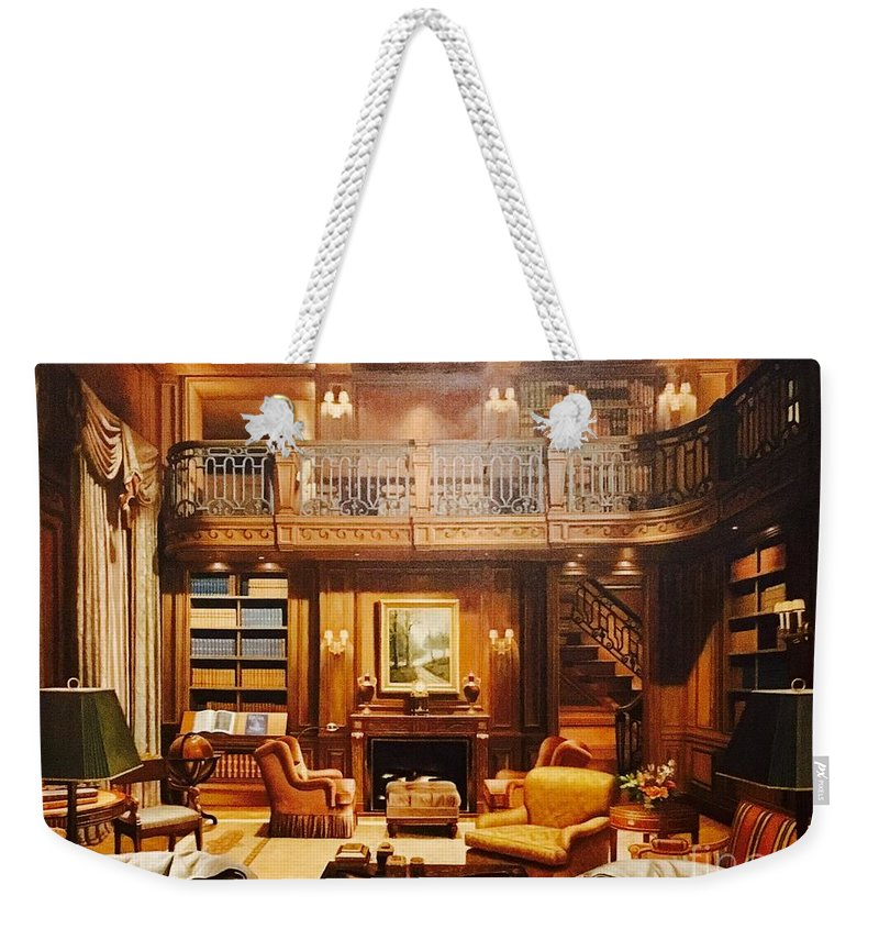 Study Weekender Tote Bag featuring the photograph The Study by Christy Gendalia