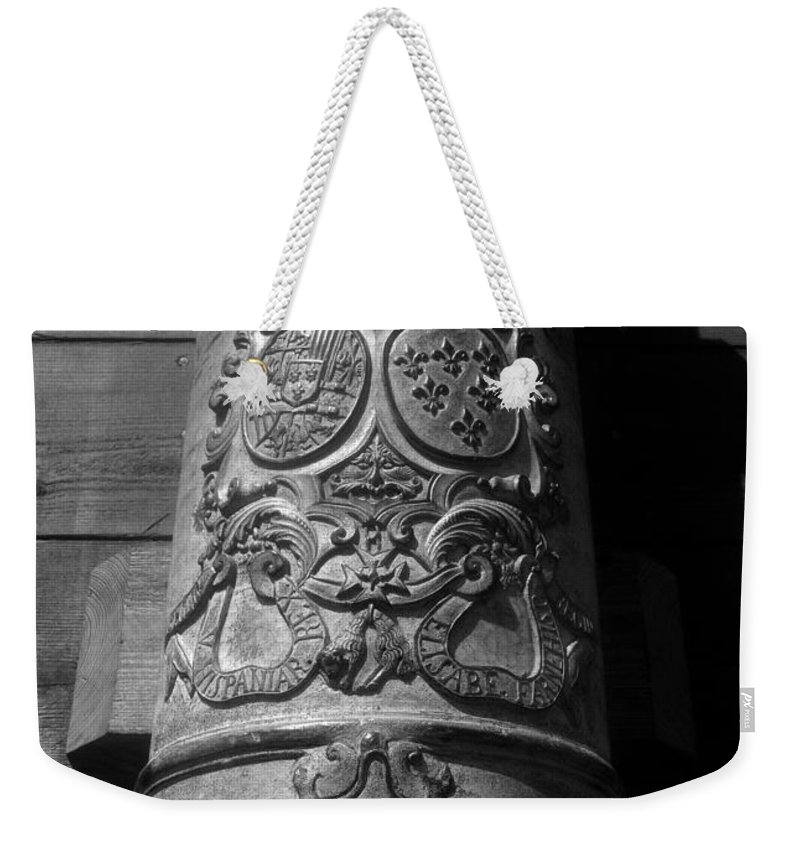 Spain Weekender Tote Bag featuring the photograph The Symbol Of Empire by David Lee Thompson