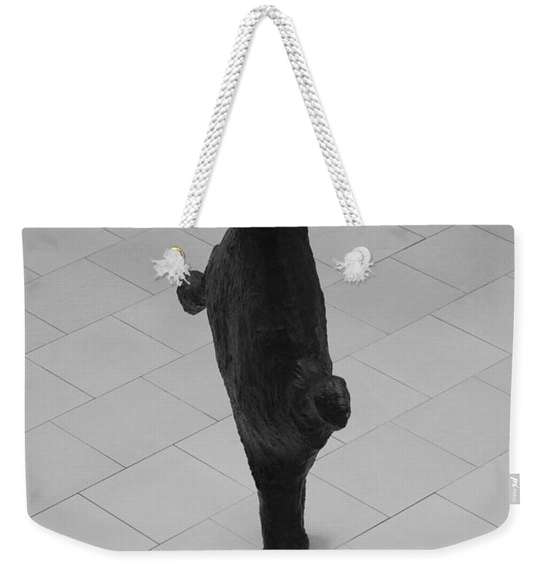 Pop Art Weekender Tote Bag featuring the photograph The Thin Man by Rob Hans