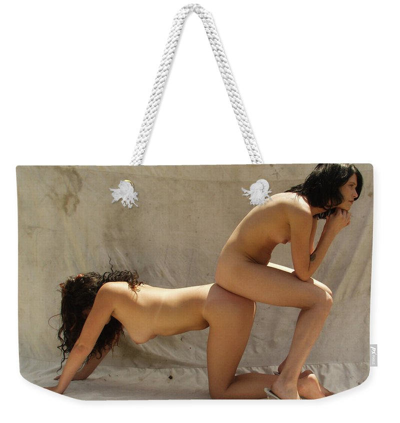Lucky Cole Everglades Photographer Weekender Tote Bag featuring the photograph The Thinker by Lucky Cole