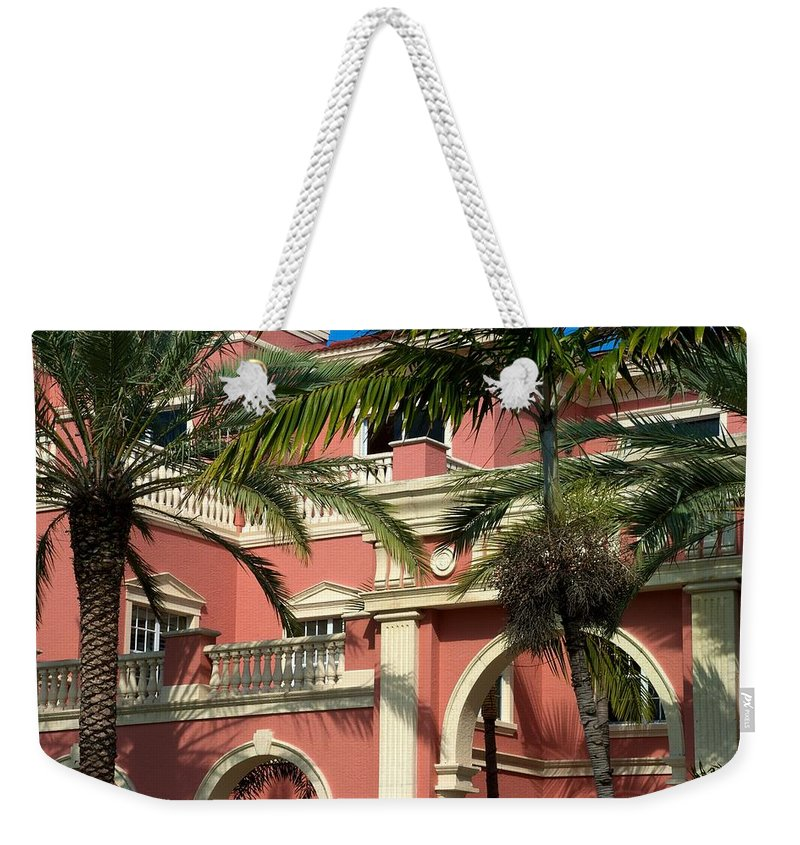 5th Avenue Weekender Tote Bag featuring the photograph The Three Hundred Sixty Five Fifth Avenue S. by Joseph Yarbrough