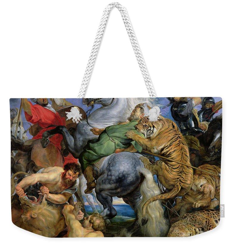 Hunt Weekender Tote Bags