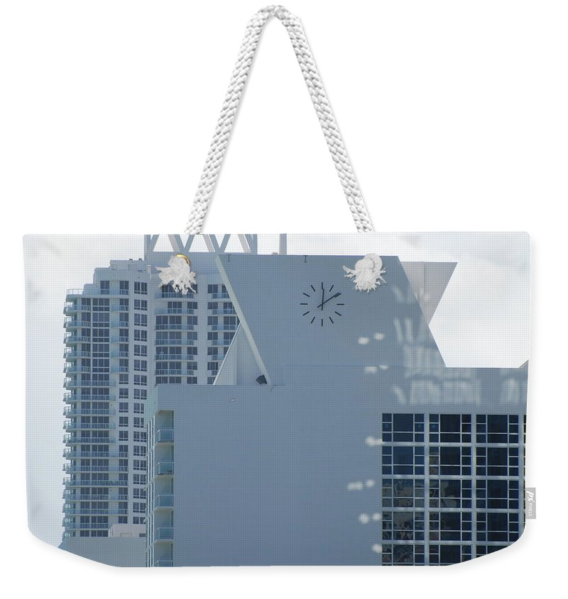 Sun Weekender Tote Bag featuring the photograph The Time Is...12 10 by Rob Hans