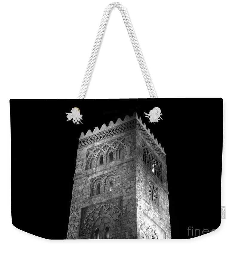 Tower Weekender Tote Bag featuring the photograph The Tower by David Lee Thompson