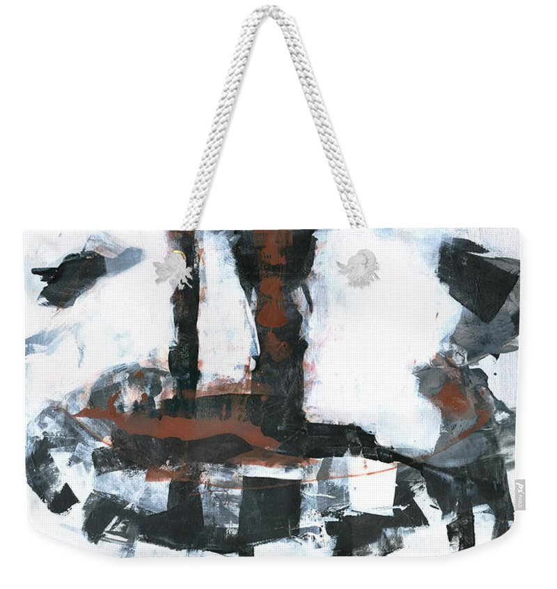 Tower Weekender Tote Bag featuring the painting The Tower by Patricia Ariel