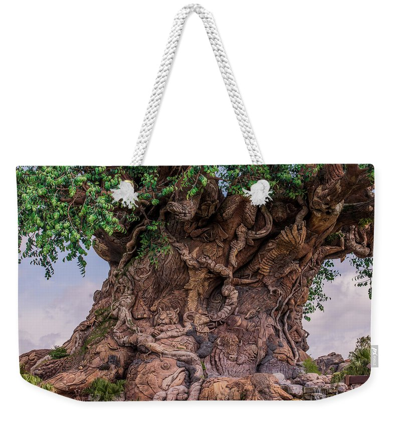 Tree Of Life Weekender Tote Bag featuring the photograph The Tree Of Life Close by Zina Stromberg