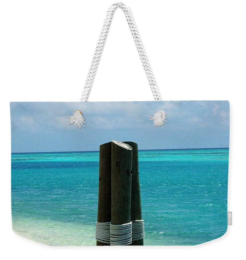 Tropical Weekender Tote Bag featuring the photograph The Triplets by Susanne Van Hulst