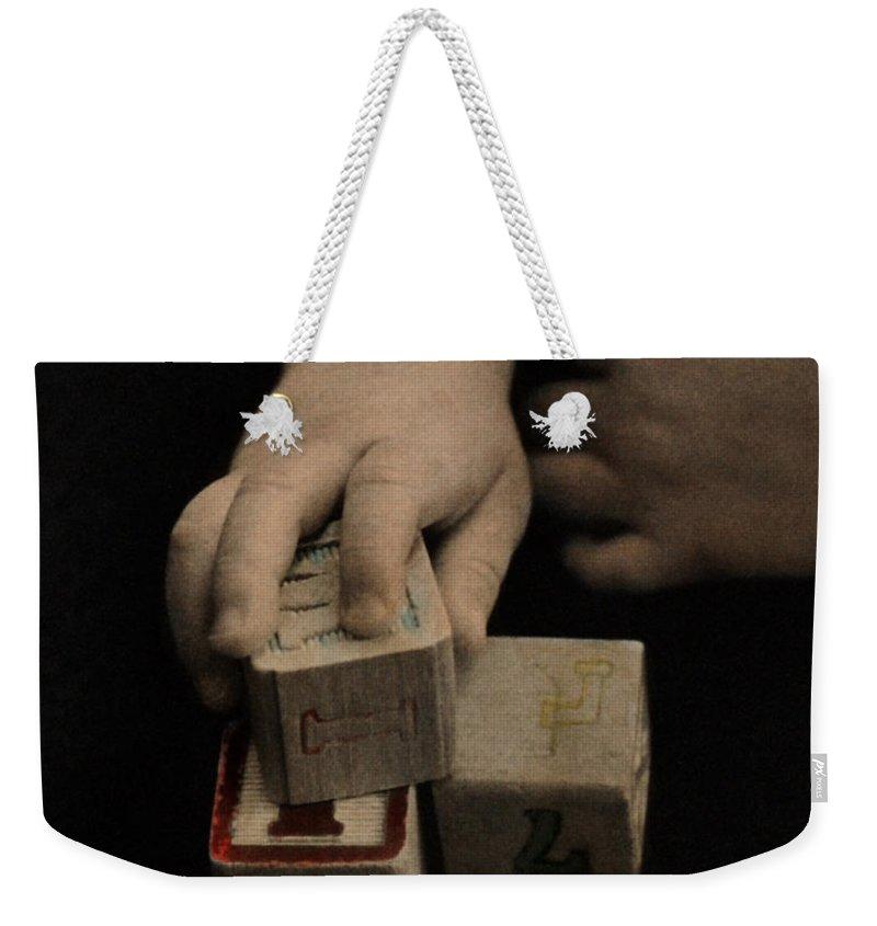 The Twelve Gifts Of Birth Weekender Tote Bag featuring the photograph The Twelve Gifts Of Birth - Final Image by Jill Reger