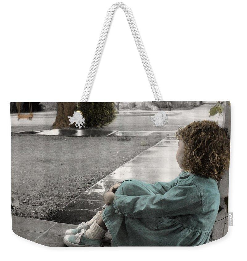 The Twelve Gifts Of Birth Weekender Tote Bag featuring the photograph The Twelve Gifts Of Birth - Hope 1 by Jill Reger