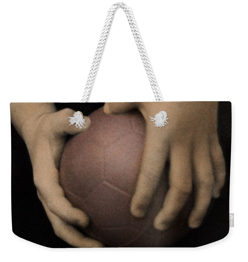 The Twelve Gifts Of Birth Weekender Tote Bag featuring the photograph The Twelve Gifts Of Birth - Strength 2 by Jill Reger