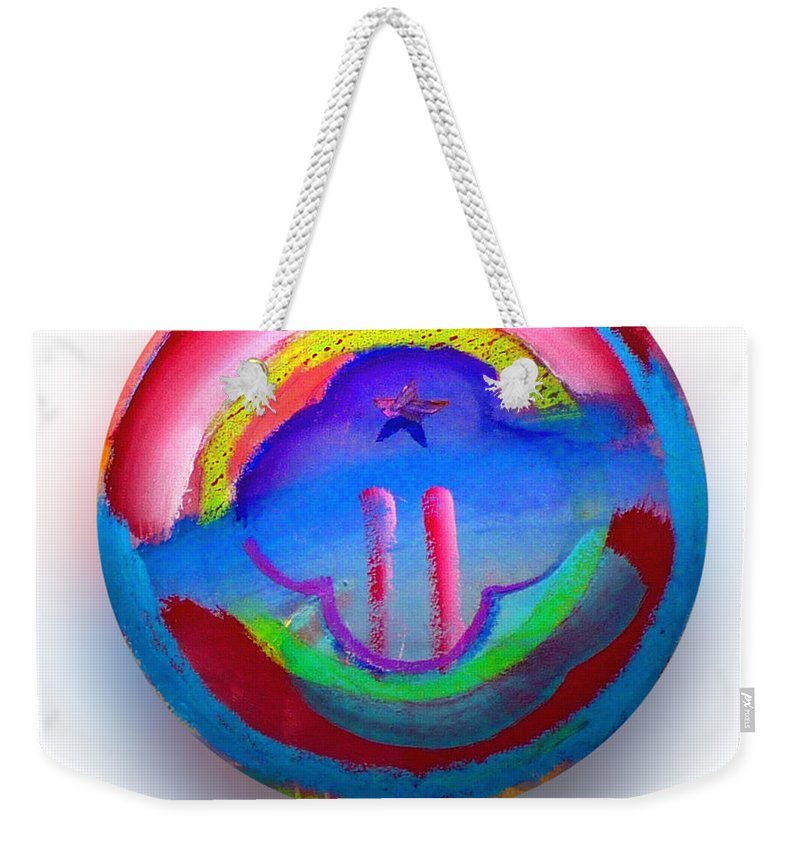9/11 Weekender Tote Bag featuring the painting The Two Towers by Charles Stuart