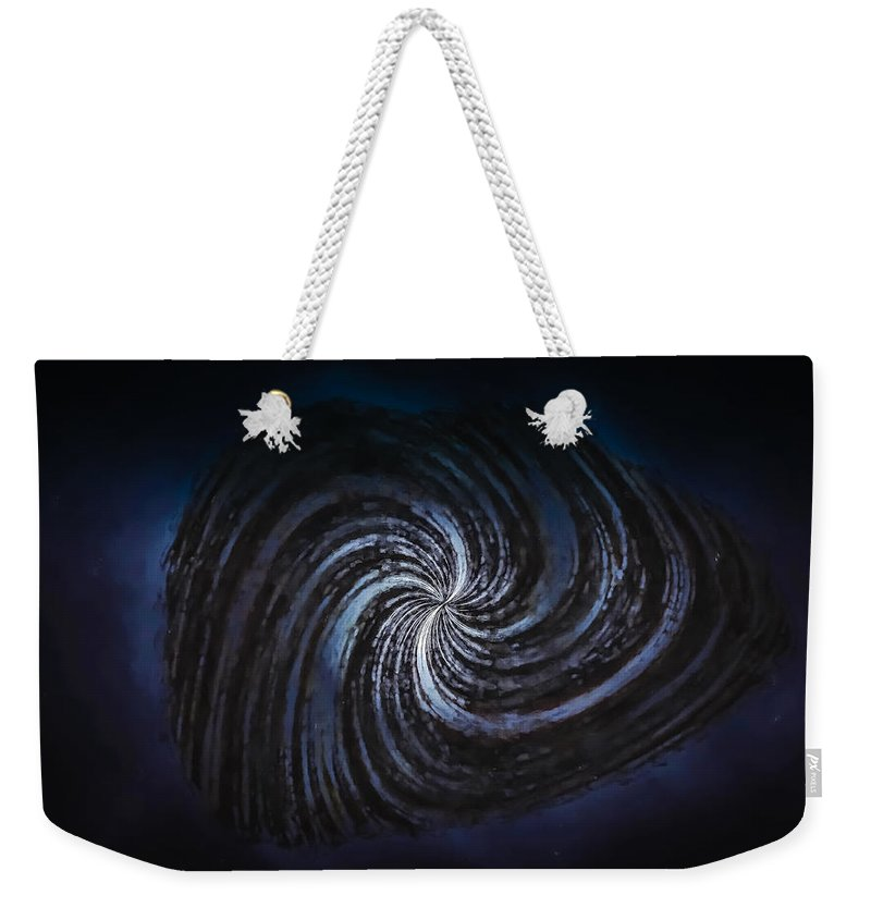Abstract Weekender Tote Bag featuring the photograph The Unknown by John M Bailey