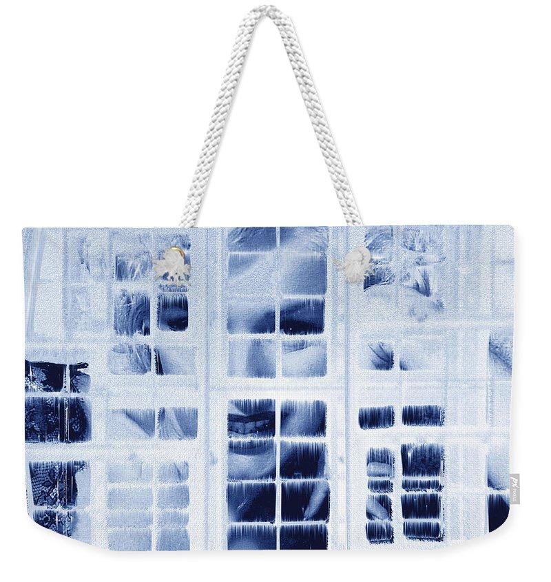 Marilyn Monroe Weekender Tote Bag featuring the digital art The Voyeur by Seth Weaver