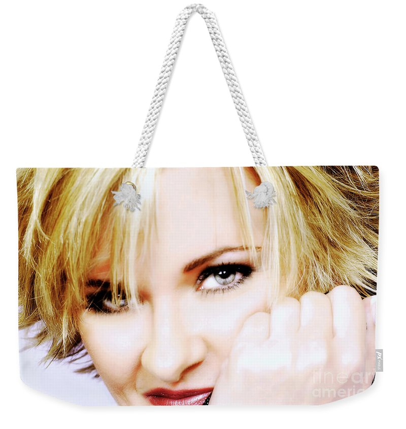 Clay Weekender Tote Bag featuring the photograph The Watcher by Clayton Bruster
