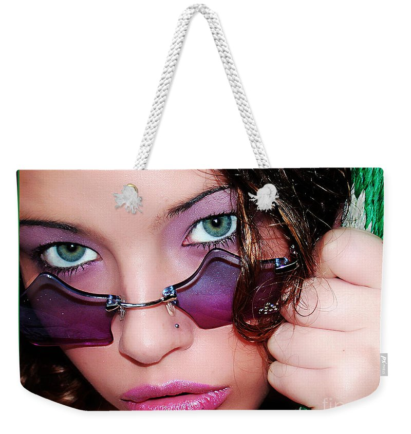 Clay Weekender Tote Bag featuring the photograph The Watcher II by Clayton Bruster
