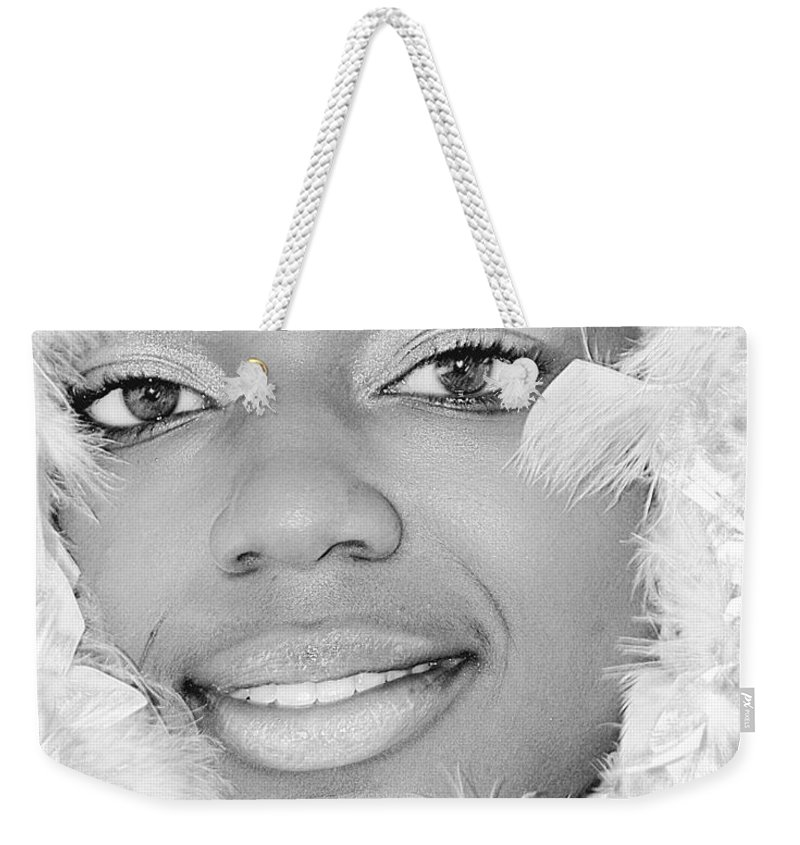 Clay Weekender Tote Bag featuring the photograph The Watcher IIip by Clayton Bruster