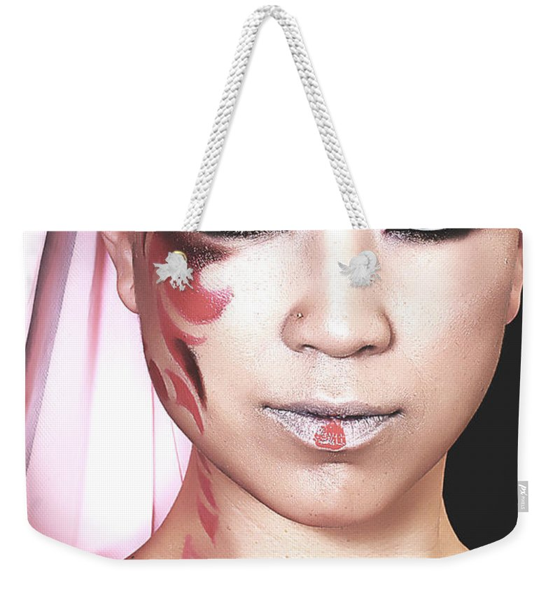 Clay Weekender Tote Bag featuring the photograph The Watcher Iv by Clayton Bruster