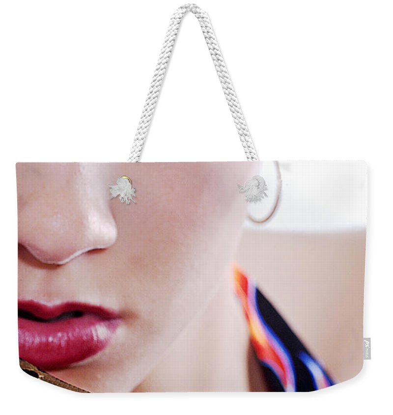 Clay Weekender Tote Bag featuring the photograph The Watcher Vi by Clayton Bruster