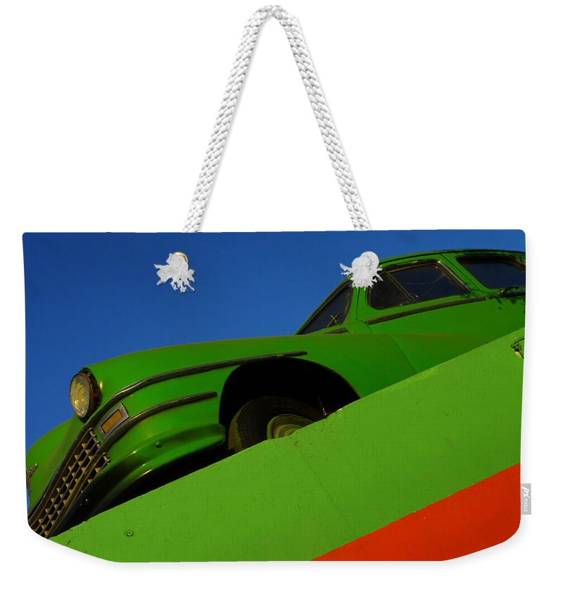 Skip Hunt Weekender Tote Bag featuring the photograph The Way We Roll by Skip Hunt