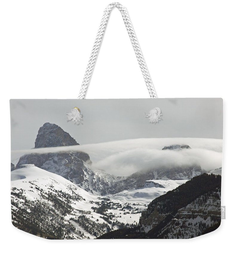 Landscape Weekender Tote Bag featuring the photograph The West Side Of Grand by DeeLon Merritt