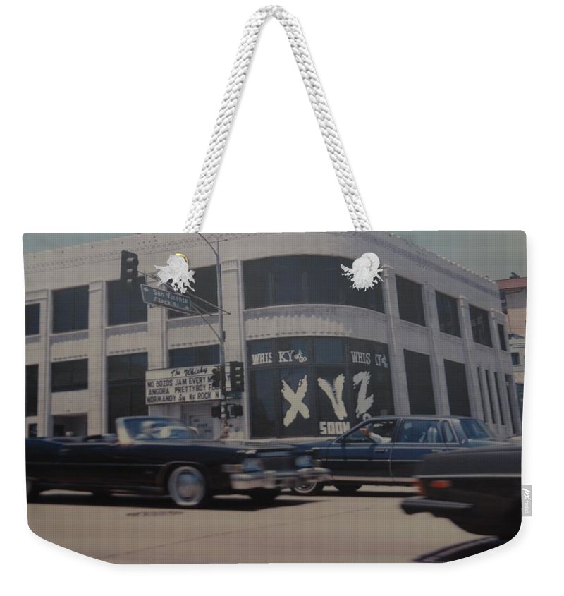 The Whiskey Weekender Tote Bag featuring the photograph The Whiskey by Rob Hans