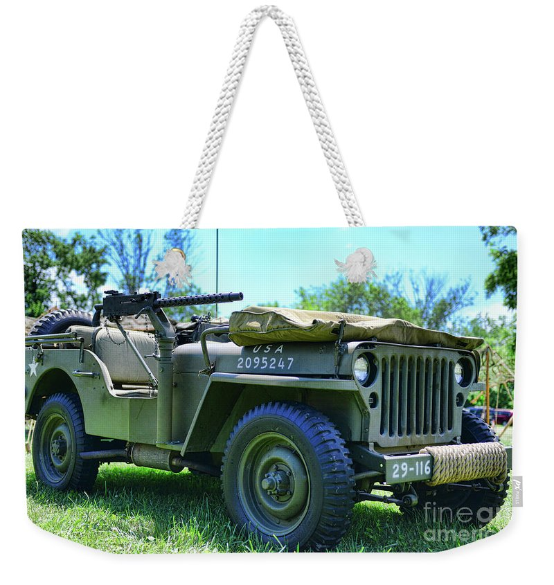 The Willys Jeep Usa Weekender Tote Bag