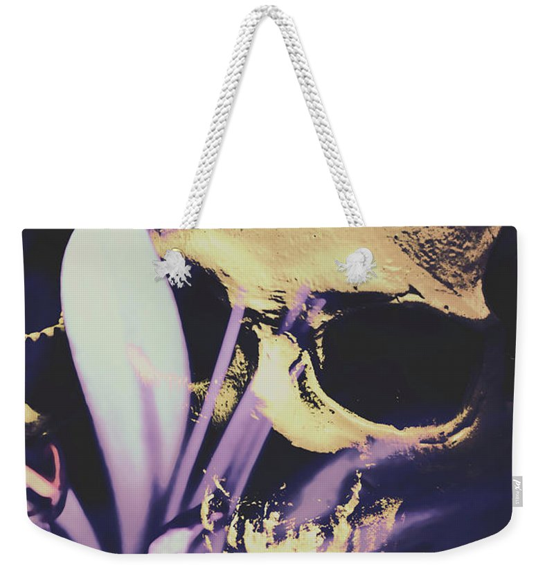 Death Weekender Tote Bag featuring the photograph The Wilted Weather Underground by Jorgo Photography - Wall Art Gallery
