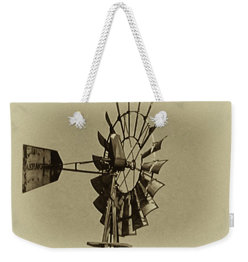 Wind Weekender Tote Bag featuring the photograph The Windmills Of My Mind by Bill Cannon