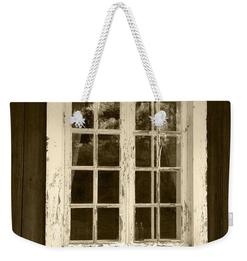 Lehtokukka Weekender Tote Bag featuring the photograph The Window 2 by Jouko Lehto