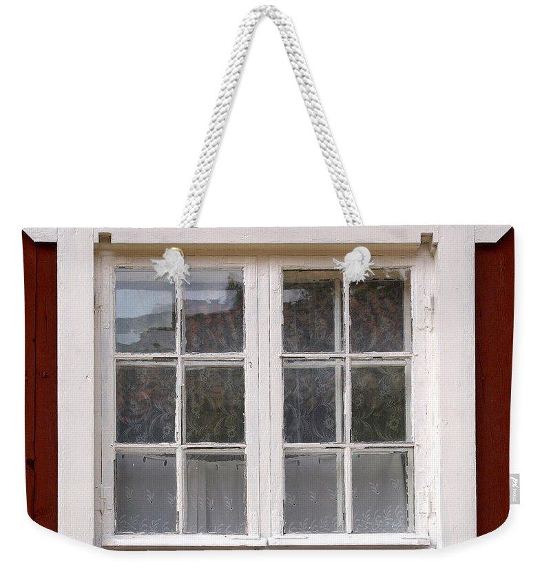 Lehtokukka Weekender Tote Bag featuring the photograph The Window 3 by Jouko Lehto