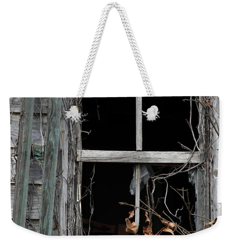 Windows Weekender Tote Bag featuring the photograph The Window by Amanda Barcon