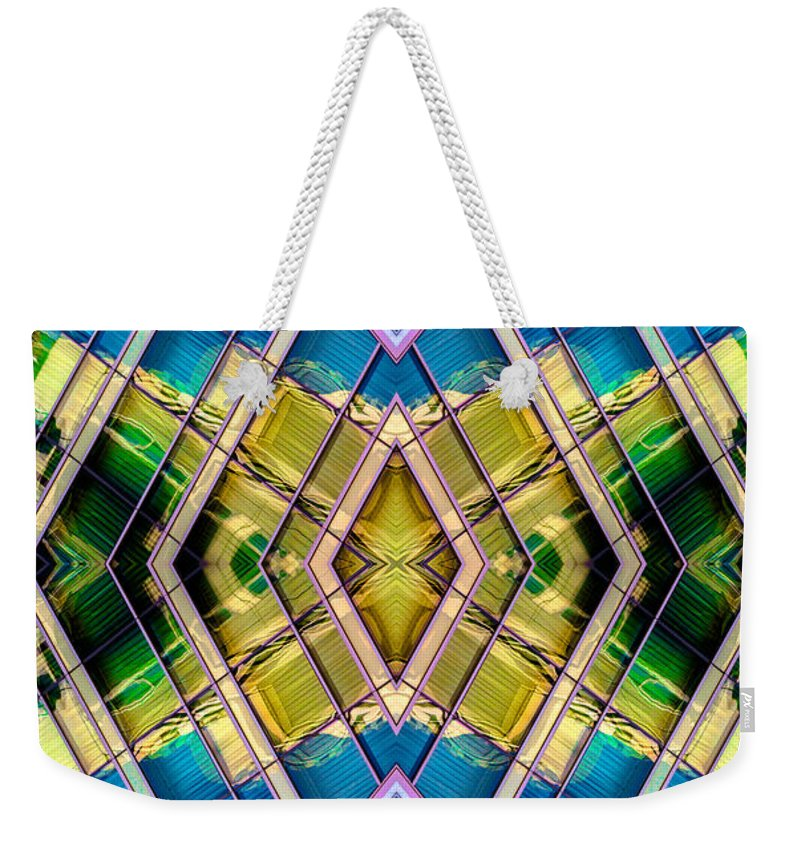 Weekender Tote Bag featuring the photograph The Wit Hotel N90 V4 by Raymond Kunst