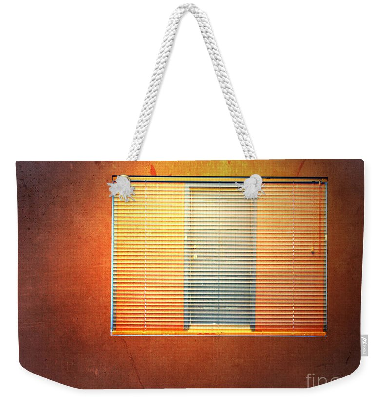 Window Weekender Tote Bag featuring the photograph The Work Day by Tara Turner