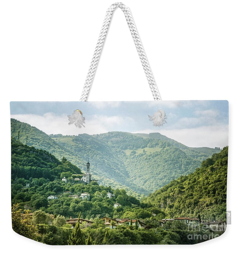 Kremsdorf Weekender Tote Bag featuring the photograph The World Above by Evelina Kremsdorf