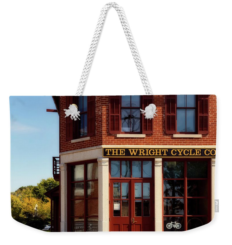 Business Cycles Weekender Tote Bags