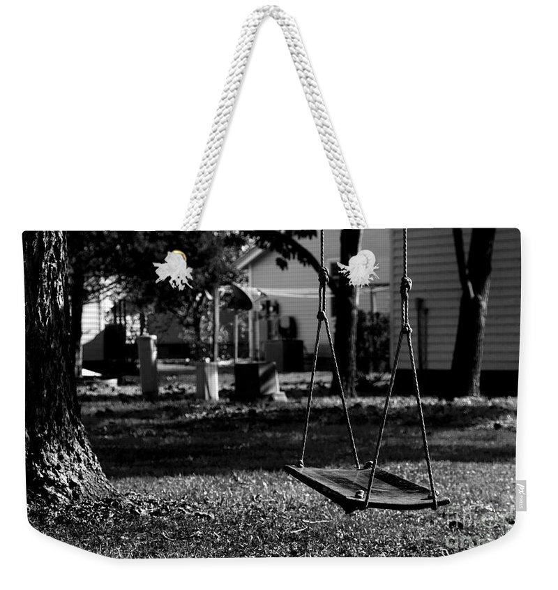 The Years Gone Bye Weekender Tote Bag featuring the photograph The Years Gone Bye by Rebecca Davis