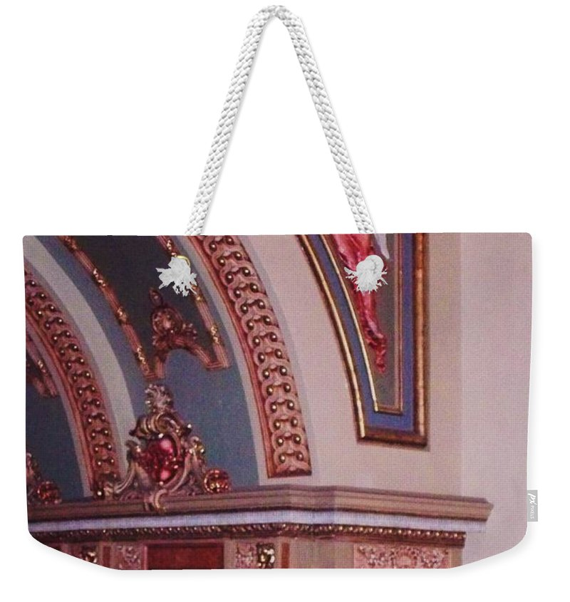 Theater Weekender Tote Bag featuring the photograph Theater by Eric Schiabor