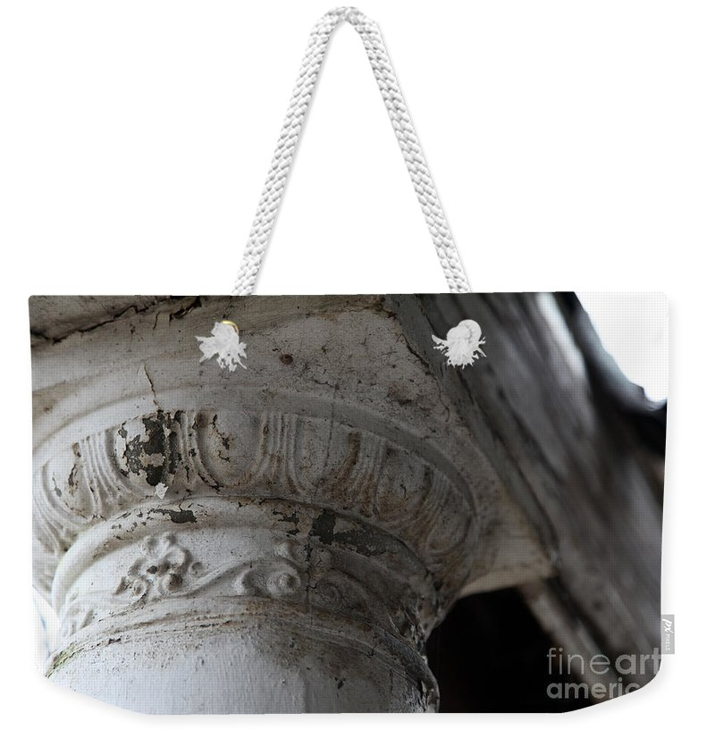Column Weekender Tote Bag featuring the photograph There For You by Amanda Barcon