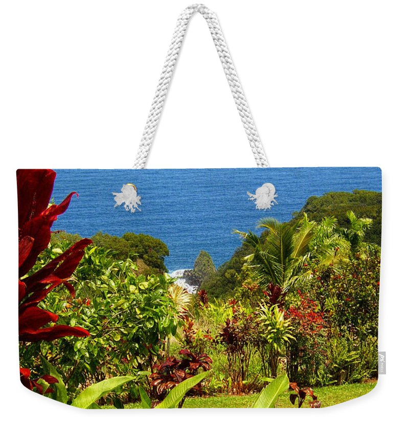 Maui Weekender Tote Bag featuring the photograph There Is A Paradise - Maui Hawaii by Glenn McCarthy Art and Photography