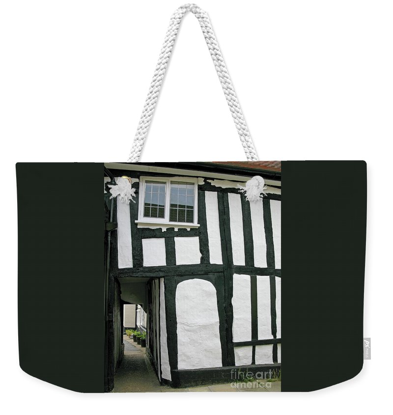 England Weekender Tote Bag featuring the photograph There Was A Crooked Man by Ann Horn