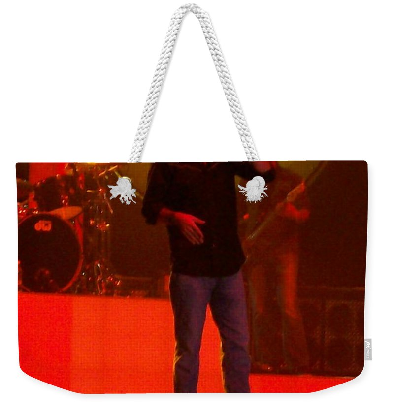 Third Day Concert Weekender Tote Bag featuring the photograph Third Day by R Chambers