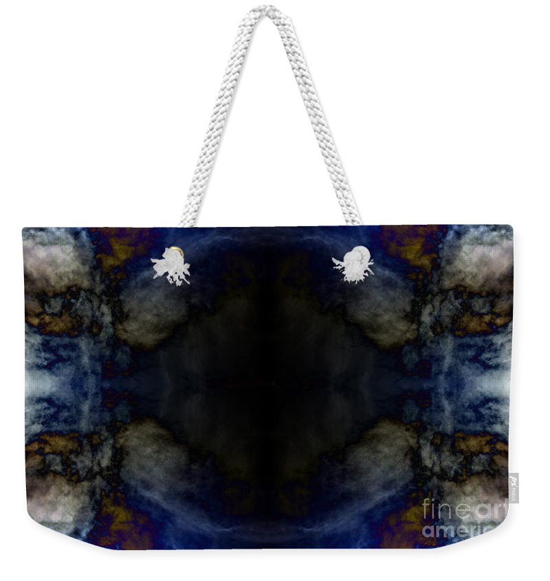Clay Weekender Tote Bag featuring the photograph Third Eye Visions by Clayton Bruster
