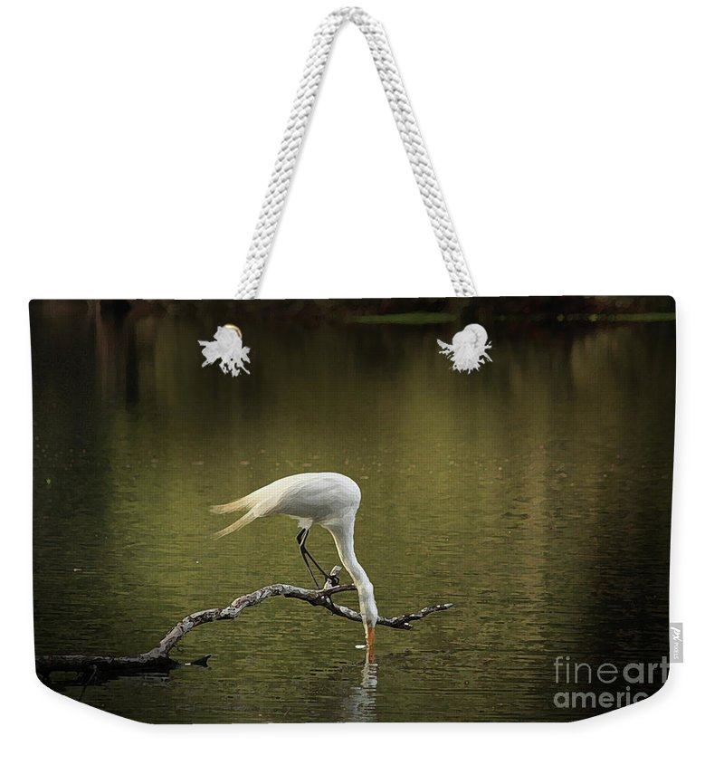 Heron Photographs Weekender Tote Bag featuring the photograph Thirst by Kim Henderson