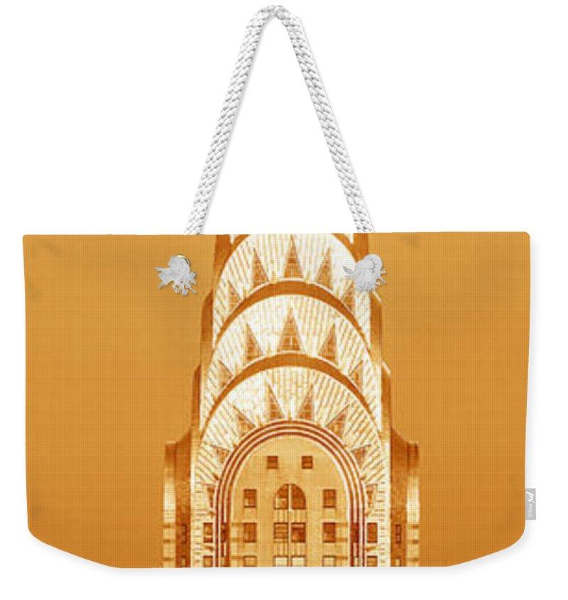 Historic Building Weekender Tote Bags