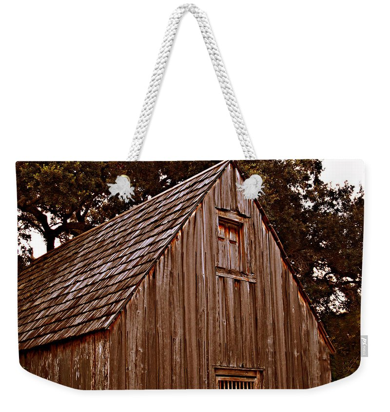 Florida Weekender Tote Bag featuring the photograph This Old House by Bob Johnson