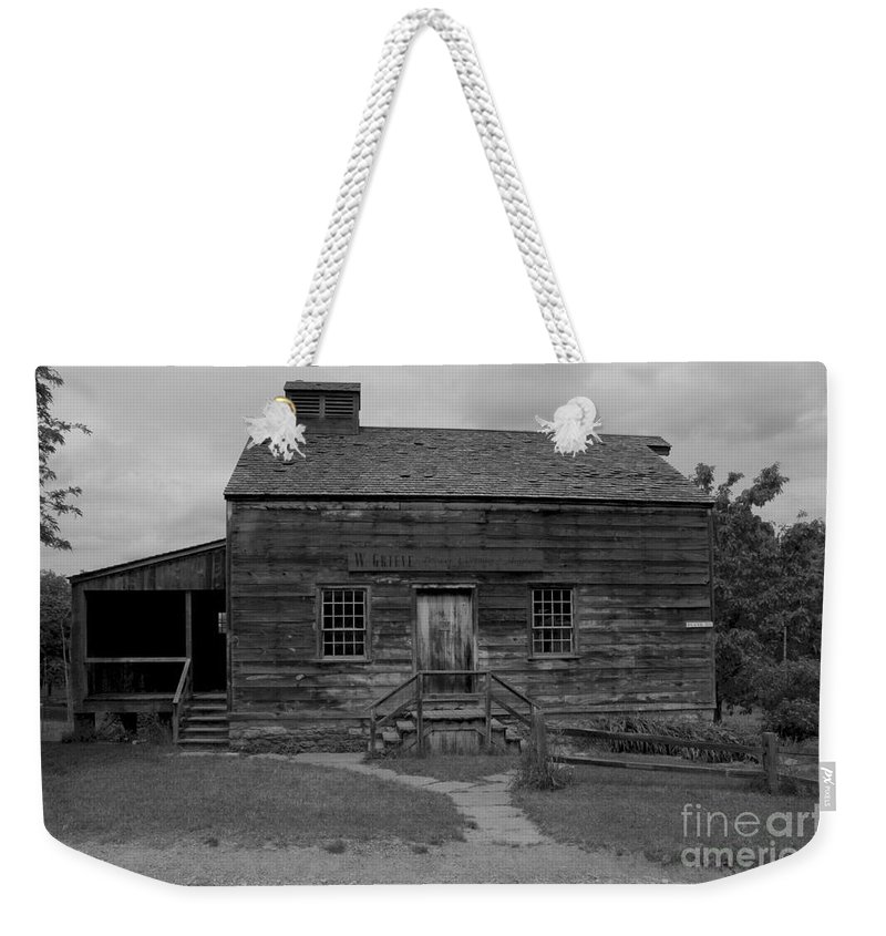 Old Weekender Tote Bag featuring the photograph This Old House by Kathleen Struckle