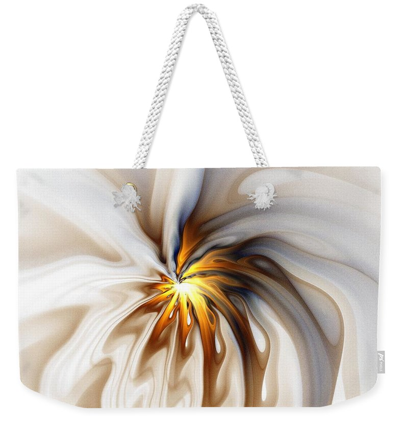 Digital Art Weekender Tote Bag featuring the digital art This Too Will Pass... by Amanda Moore